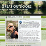 The Great Outdoors WordPress 3 Theme