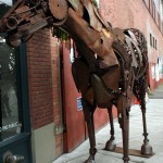 The Iron Horse or Lucky Ass