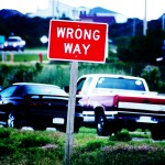 Wrong Way to go