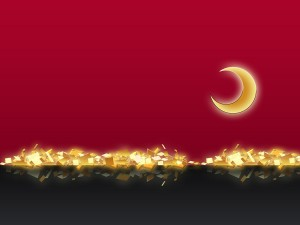 The Golden Moon