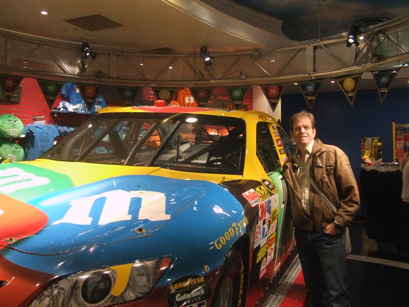 John in Vegas at M&M World