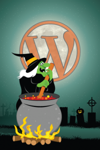 Happy WordPress scare month