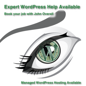 Book your WordPress job with john now.