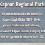 Kapoor Regional Park