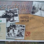 Leechtown original town plan now is Kapoor Regional Park