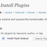 Search for plugin Kimili Flash Embed