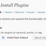 Search for plugin Kimili Flash Embed