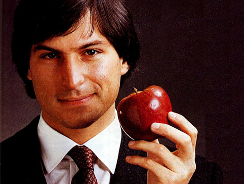 Steve Jobs Young and full of vision
