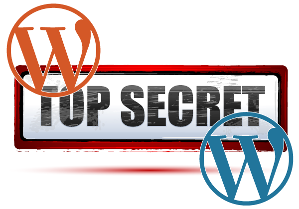 keeping the secret of wordpress