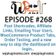 It's Episode 268 and we've got plugins for Post Shortcodes, Affiliate Links, Emailing Your Users, WooCommerce Product Tabs, Order Testing, and a new way to skip the dashboard on login.. It's all coming up on WordPress Plugins A-Z!
