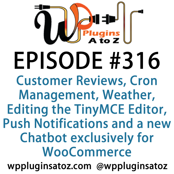 WordPress Plugins A-Z #315 Weather, Editing the TinyMCE Editor