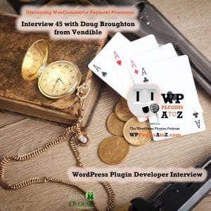 Interview 45 with Doug Broughton from Vendible https://www.vendible.org/ talking about a WooCommerce payment gateway that allows the use of crypto currencies. Using unique technologies and connection for maximum security of payment processing.