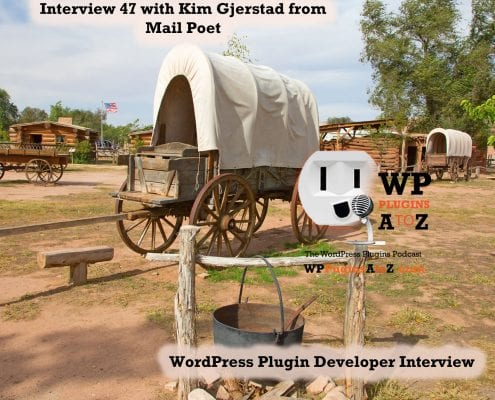 Interview I talk with Kim Gjerstad abut Mail Poet and how it has evolved and changed since it was created in 2011. We talk about the mailing service they now offer with the plugin to help ensure your emails get delivered.