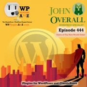 It's Episode 444 and I've got plugins for Stock Photography, Lazy Loading, Newsletters, and ClassicPress Options. It's all coming up on WordPress Plugins A-Z! StockPack, Lazy Load for GMaps, Boldermail and ClassicPress options in Episode 444