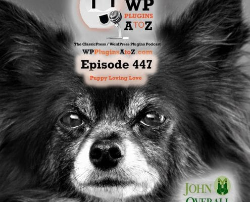It's Episode 447 and I've got plugins for Sharing the Love, Easy Files, Lazy Times, Insult Generator and ClassicPress Options. It's all coming up on WordPress Plugins A-Z! Valentine's Day, Valentine's Day Hearts, File Manager, Lazy Load Elementor Background Images, Insult Generator, and ClassicPress options in Episode 447