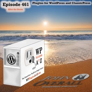 It's Episode 461 with plugins for Merging form data to PDF.s, Controlling your World, Exporting to PDF, Stopping the XML-RPC and ClassicPress Options. It's all coming up on WordPress Plugins A-Z! Formidable PRO2PDF, Advanced Access Manager, E2Pdf – Export To Pdf Tool for WordPress, Simple XML-RPC Disabler and other ClassicPress options in Episode 461