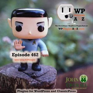 It's Episode 462 with plugins for Deleting Items, Re-Ordering Your Life, Removing those Attachments and ClassicPress Options. It's all coming up on WordPress Plugins A-Z! It's all coming up on WordPress Plugins A-Z! Post Types Order, Smart Attachment Page Remove, Bulk Delete and other ClassicPress options in Episode 462