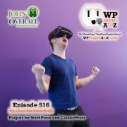 It's Episode 516 - W have plugins for Hero's, Videos, Pride, Image management, Stop Spammers, Wasting time ... and ClassicPress Options. It's all coming up on WordPress Plugins A-Z!