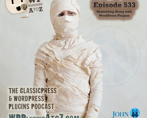 It's Episode 533 - Mars Pictures, Backend File Search, Better Links, Engineering Non-Comments, Halloween Boxing, CSSing..... and ClassicPress Options. It's all coming up on WordPress Plugins A-Z!